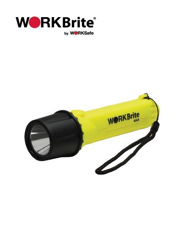 WORKBrite Intrinsically Safe Flashlight - Prima Dinamik Supplies Sdn Bhd (PDS Safety)