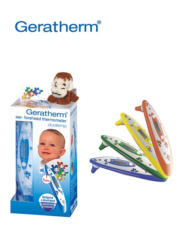 Geratherm duotemp Ear & Forehead Thermometer - Prima Dinamik Supplies Sdn Bhd (PDS Safety)