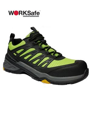 WORKSafe 8008 LOW-CUT LACE-UP SHOES - Prima Dinamik Supplies Sdn Bhd (PDS Safety)