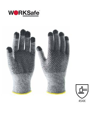 WORKSafe® HPPE/FIBERGLASS/NITRILE CUT-RESISTANT GLOVES - Prima Dinamik Supplies Sdn Bhd (PDS Safety)