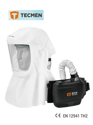 (Covid-19) Tecmen TM-H Hood With Power Air Purifying Respirator (PAPR)
