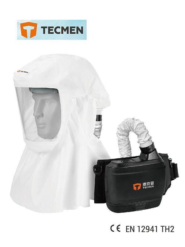(Covid-19) Tecmen TM-H Hood With Power Air Purifying Respirator (PAPR)