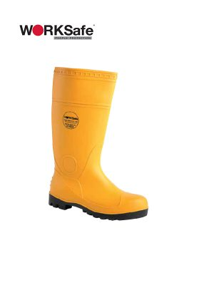 WORKSafe® 2010 HIGH-CUT VULCAN BOOTS YELLOW (S4) @ Prima Dinamik
