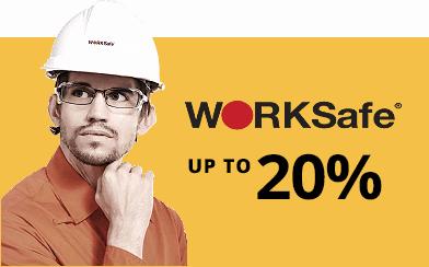 WorkSafe 20% @ Prima Dinamik