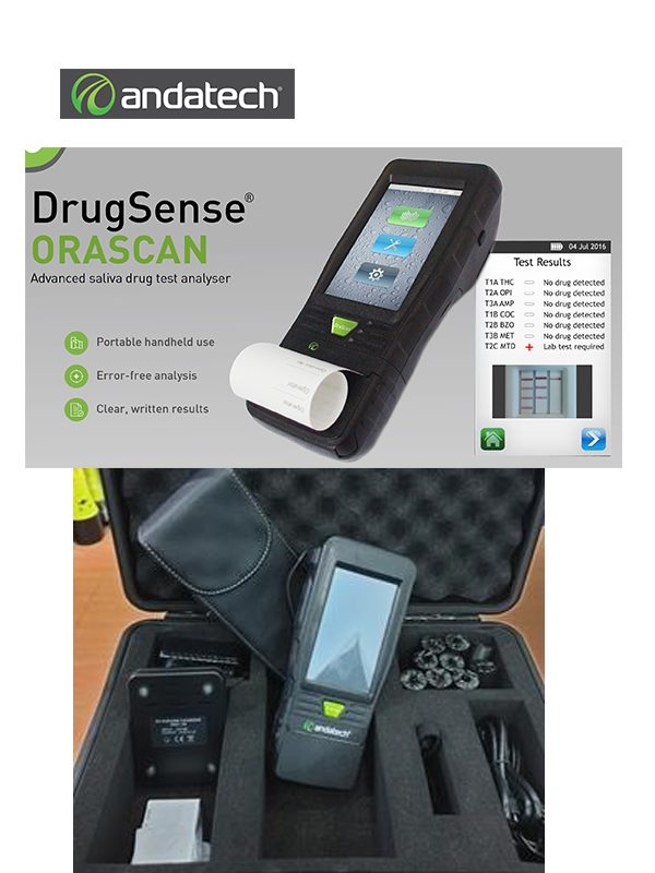 DrugSense ORASCAN Advanced saliva drug test analyser @ Prima Dinamik