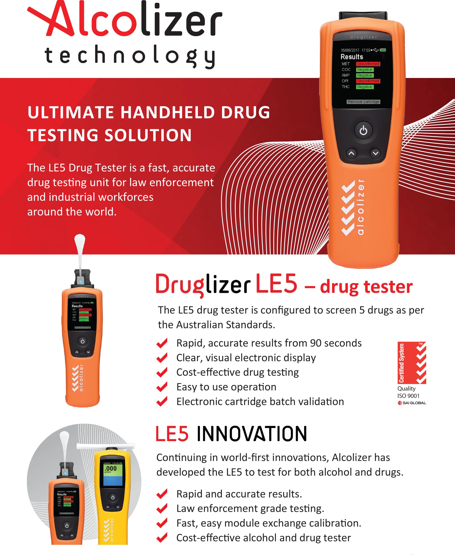 Ultimate Handheld Drug Testing Solution