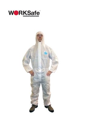 WORKSafe® CHEMPRO 1500 LIMITED WEAR LIFE HOODED COVERALLS @ Prima Dinamik