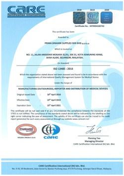 Prima Dinamik Certificate