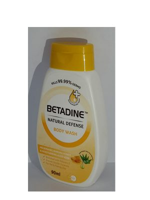 Betadine Natural Defence Body Wash Manuka Honey