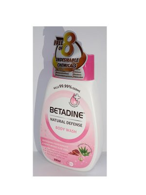 Betadine Natural Defence Body Wash Pomegranate