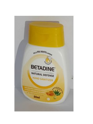Betadine Natural Defence Hand Sanitizer Honey