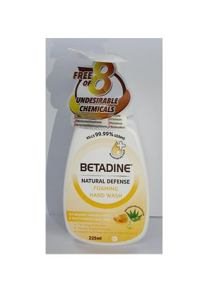 Betadine Natural Defence Honey Foaming Hand Wash