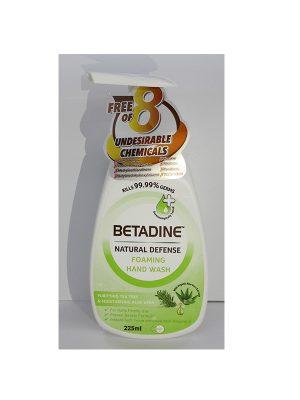 Betadine Natural Defence Tea Tree Foaming Hand Wash
