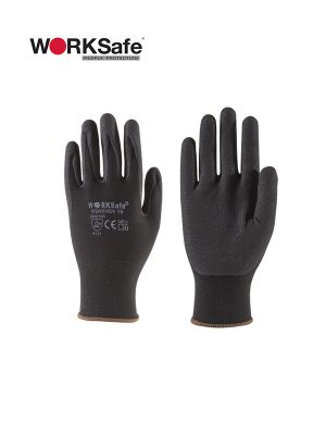 WORKSafe® Nitrile Micro Foam Coat Nylon Liner Safety Gloves