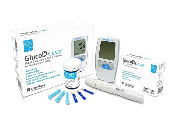 Gluco Dr. Auto A Blood Glucose Monitoring System