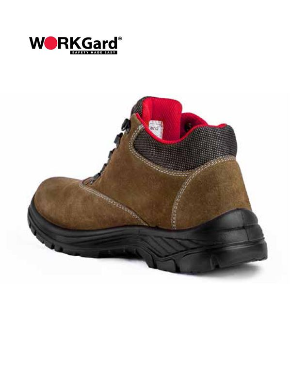 WORKGard OMEGA MID CUT LACE UP SHOES
