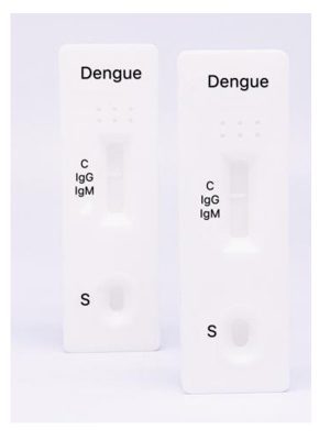 Dengue IgG / IgM Ab Rapid Test Kit One Step Diagnosis Blood Testing