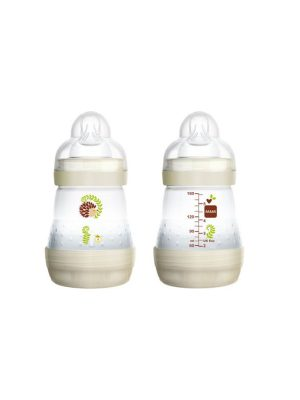 MAM Easy Active Baby Feeding Bottle (160ML X2) Ivory