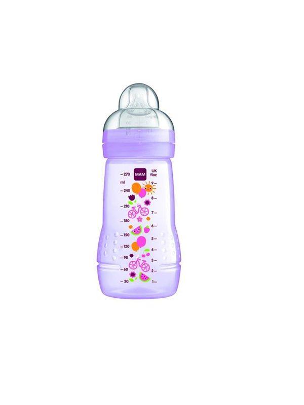 Mam Easy Active Baby Bottle (270ml) - Purple