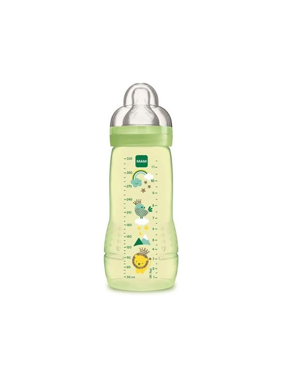 Mam Easy Active Baby Bottle (330ml) - Green
