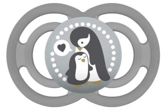 MAM Perfect Pacifier (6+ months) Grey Penguin