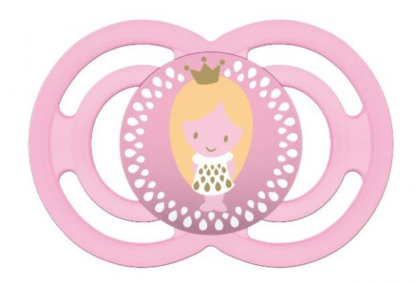 MAM Perfect Pacifier (16 months+) Pink Girl