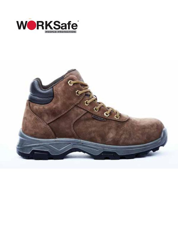 WORKSafe® Master Mid-Cut Lace-Up Shoes