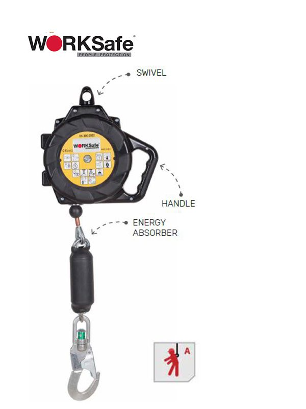 WORKSafe® CR250HV Self-Locking Device For Vertical And Horizontal