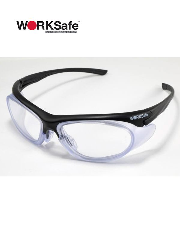 Black Frame WORKSafe® URANUS E3060 Safety Eyewear - Prima Dinamik Safety Eyewear Distributor