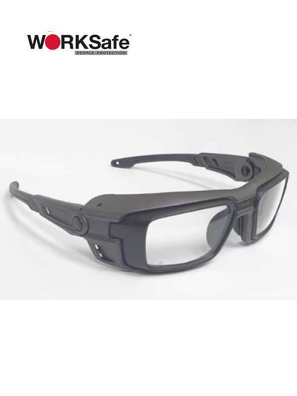 Matt Black Frame WORKSafe® VECTOR Safety Eyewear - Prima Dinamik Safety Eyewear Distributor