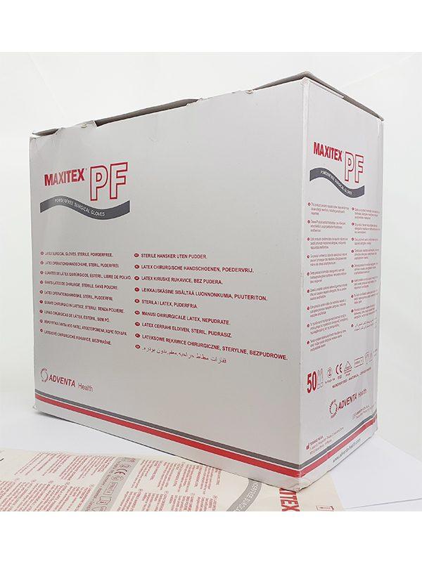 MAXITEX Sterile Surgical Latex Glove, Powder Free - Prima Dinamik Safety Equipment Distributor