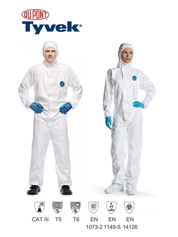 DuPont™ Tyvek® 500 Xpert - Prima Dinamik Safety Equipment Distributor